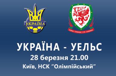 Украина – Уэльс (28.03.2016) Товарищеский матч