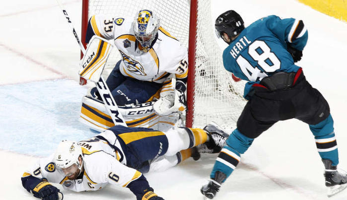 Нэшвилл Предаторз – Сан-Хосе Шаркс (10.05.2016) НХЛ. Прямая трансляция.