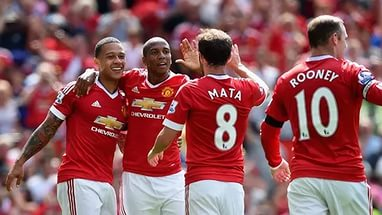 Манчестер Юнайтед – Лестер (01.05.2016) Премьер лига, 36-й тур