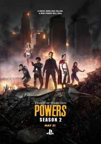 Сверхспособности 2 сезон: 3 серия / Powers (03.06.2016)